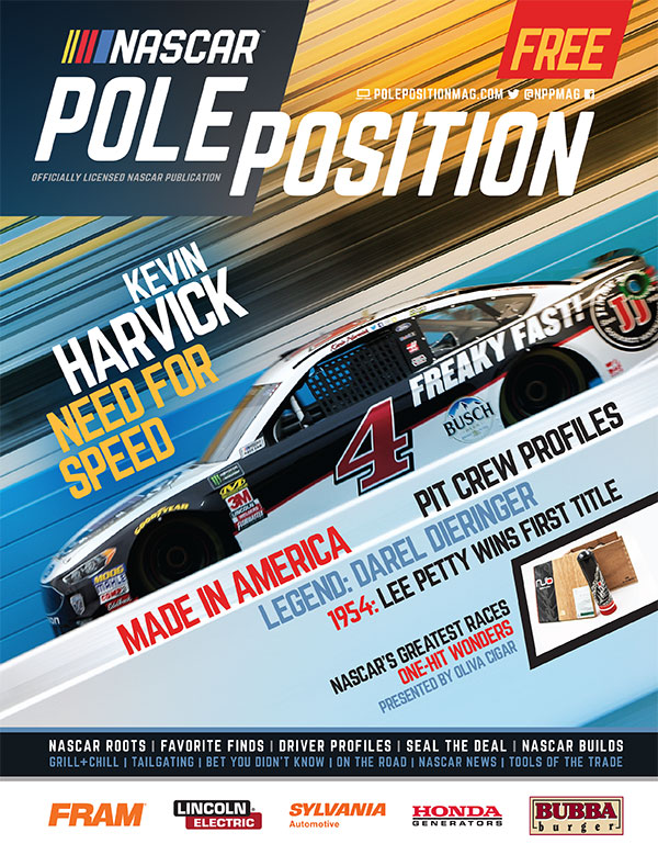 Latest NASCAR Pole Position